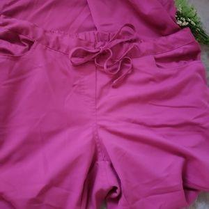 Grey's Anatomy Pants - Grey's Anatomy pink scrub pants. Size XL long